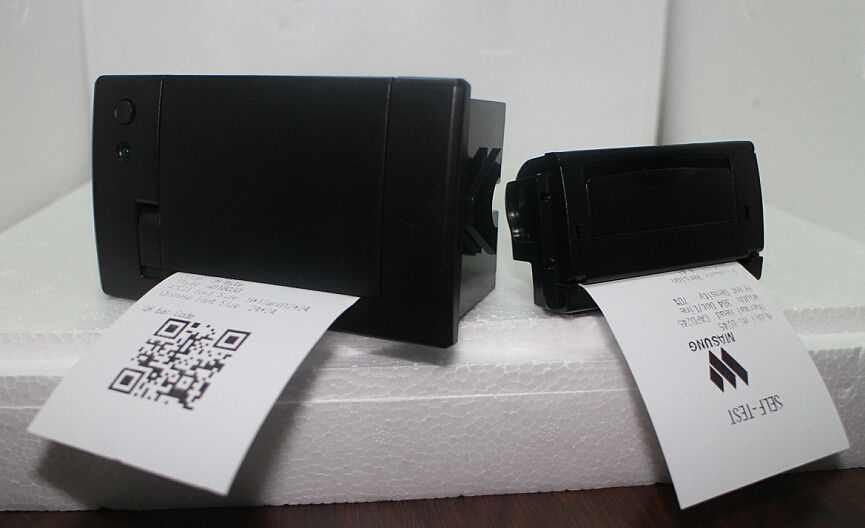 Mobile Terminal Ultra Big Roll Panel Mount Printers , 58mm Thermal Receipt Printer
